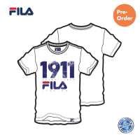 PRE-ORDER FILA Cotton Basic White Graphic T shirt / NEW ARRIVAL (斐乐纯棉图形T恤-白色)
