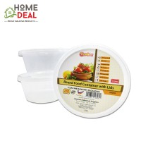GoCod - Round Food Container with Lids 350ml (GoCod 圆形食物容器)
