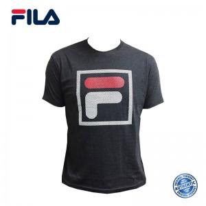 FILA Cotton Graphic T-Shirt - D6 Dr Melang