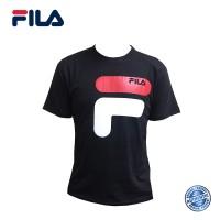 FILA Cotton Graphic T-Shirt - D9 Black (斐乐纯棉图形T恤-D9 黑色)