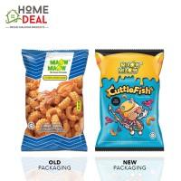 Miaow Miaow Cuttlefish Crackers 60g (Miaow Miaow 墨鱼饼干)