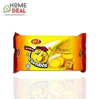Win Win Cornbis Sweet Corn Crackers Original 108g (赢赢烘烤香脆 甜玉米口味 儿童饼干 108克)