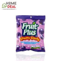 Fruit Plus Blackcurrant Chewy Candy 150g