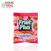 Fruit Plus Strawberry Chewy Candy 150g (Fruit Plus水果糖-草莓)