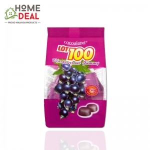 Lot 100 Fruity Gummy Blackcurrant 100g (LOT100一百份果汁软糖-黑加仑子味)