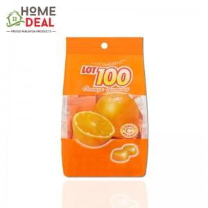 Lot 100 Fruity Gummy Orange 100g (LOT100一百份果汁软糖-香橙味)