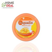 Dequadin Pastilles Lemon 50g (得果定 柠檬味喉糖)