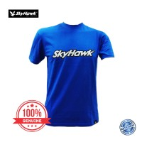 SkyHawk Basic T-shirt - Blue (SKYHAWK普通蓝色衣服)