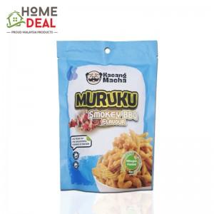 Kacang Macha - Smokey BBQ flavour Muruku 60g (Kacang Macha 烟熏烧烤味豆条)
