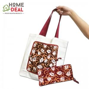 Batik Folding Tote Bag (蜡染折叠手提袋)