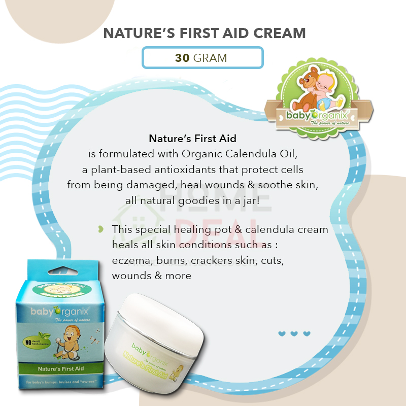 Baby Organix First Aid Cream 30g